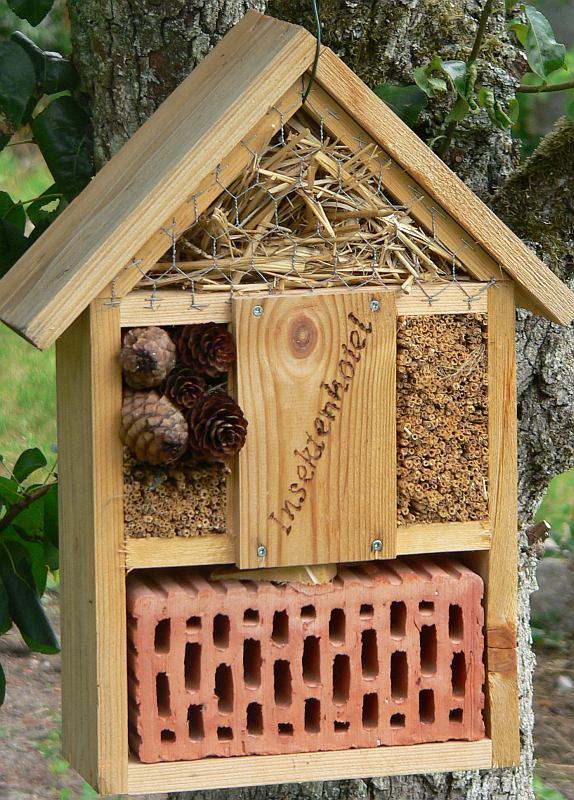 Insektenhotel Kaufen Naturschutz Im Garten